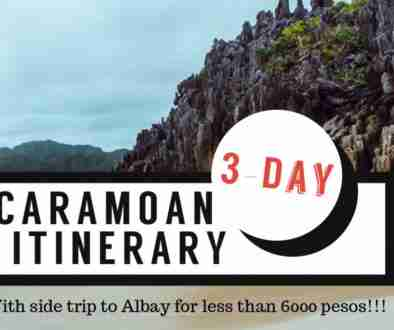 3-day caramoan itinerary